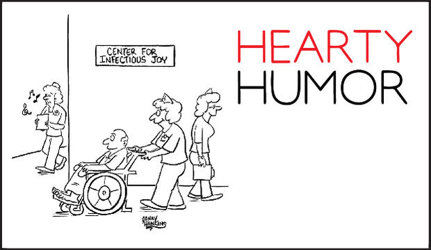 Hearty Humor by Johnny Hawkins